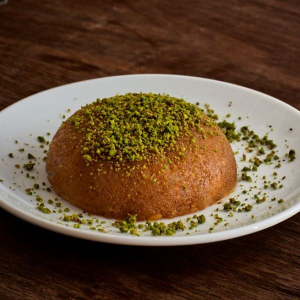 Farina Halva with Ice Cream
