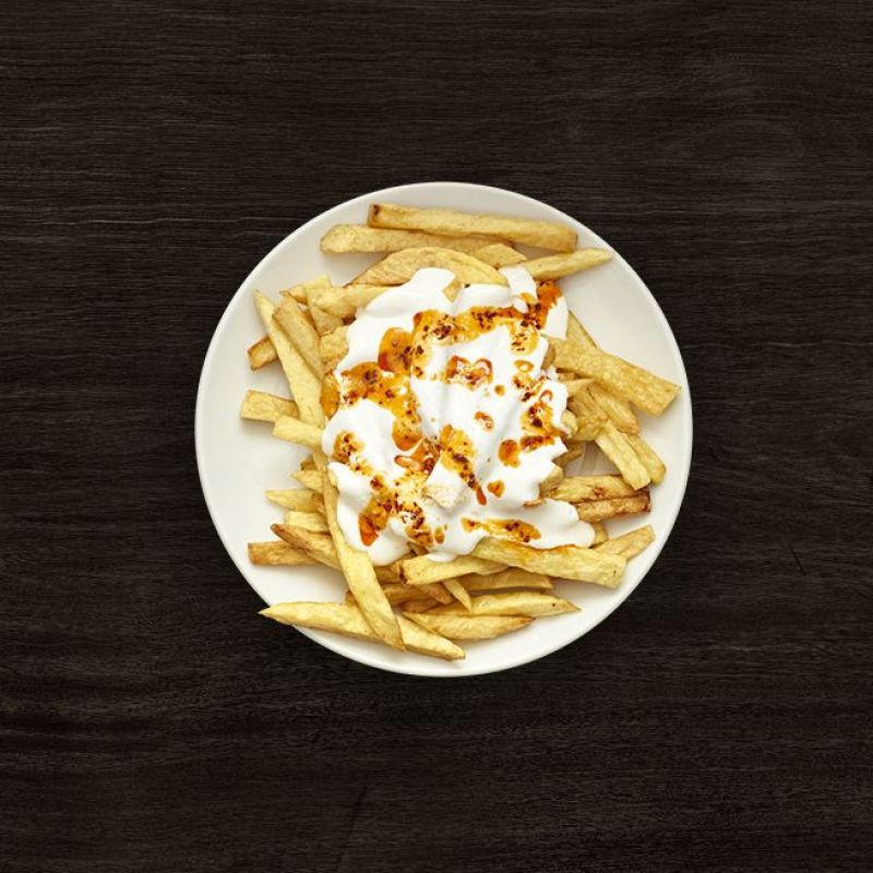 Pommes Frites with Butter and Yoghurt